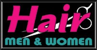 LIGHTBOX Hair Men & Women Sign