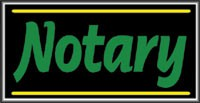 LIGHTBOX Notary Sign