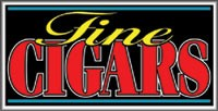 LIGHTBOX Fine Cigars Sign