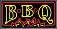 LIGHTBOX BBQ Sign
