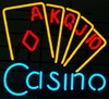 NEON Casino � Guaranteed bright and brilliant neon bar signs! Our neon bar signs feature quality ½ diameter neon glass tubing and whisper quiet UL listed neon bar sign transformer. Full 1-5 year no hassle warranty.