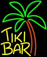 Tiki Bar Palm Neon Sculpture – Guaranteed bright and brilliant neon color! Quality ½ diameter neon light sculpture at a wholesale price. Full 1-year no hassle warranty.