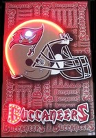 Tampa Bay Buccaneers Neon LED Art – Guaranteed bright and brilliant neon color! Quality framed neon light pictures and neon art posters for less. Full 1-year no hassle warranty.