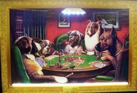 Dogs Playing Poker Neon LED Art – Guaranteed bright and brilliant neon color! Quality framed neon light pictures and neon art posters for less. Full 1-year no hassle warranty.