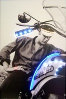 Elvis Motorcycle LED Art – Guaranteed bright and brilliant neon color! Quality framed neon light pictures and neon art posters for less. Full 1-year no hassle warranty.