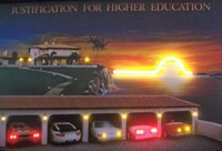 Higher Education Neon LED Art – Guaranteed bright and brilliant neon color! Quality framed neon light pictures and neon art posters for less. Full 1-year no hassle warranty.