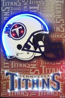 Tennessee Titans Neon LED Art – Guaranteed bright and brilliant neon color! Quality framed neon light pictures and neon art posters for less. Full 1-year no hassle warranty.