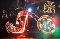 West Coast Choppers Bike LED Art – Guaranteed bright and brilliant neon color! Quality framed neon light pictures and neon art posters for less. Full 1-year no hassle warranty.