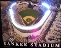 Yankee Stadium Neon LED Art – Guaranteed bright and brilliant neon color! Quality framed neon light pictures and neon art posters for less. Full 1-year no hassle warranty.