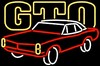 Pontiac GTO Neon Sign � Guaranteed bright and brilliant neon bar signs! Our neon bar signs feature quality ½ diameter neon glass tubing and whisper quiet UL listed neon bar sign transformer. Full 1-5 year no hassle warranty.