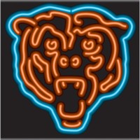 Chicago Bears Neon Sign