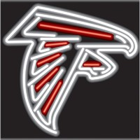 Atlanta Falcons Neon Sign – Guaranteed bright and brilliant NFL neon signs! Our NFL neon signs feature quality ½ diameter neon glass tubing and whisper quiet UL listed neon sign transformer. Full 1-5 year no hassle warranty.