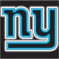 New York Giants Neon Sign – Guaranteed bright and brilliant NFL neon signs! Our NFL neon signs feature quality ½ diameter neon glass tubing and whisper quiet UL listed neon sign transformer. Full 1-5 year no hassle warranty.