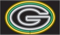 Green Bay Packers Neon Sign – Guaranteed bright and brilliant NFL neon signs! Our NFL neon signs feature quality ½ diameter neon glass tubing and whisper quiet UL listed neon sign transformer. Full 1-5 year no hassle warranty.