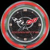 "Corvette C5 Black 14"" – Guaranteed bright and brilliant neon color! Quality Americana neon wall clocks for less. Full 1-5 year no hassle warranty."