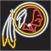 Washington Redskins – Guaranteed bright and brilliant NFL neon signs! Our NFL neon signs feature quality ½ diameter neon glass tubing and whisper quiet UL listed neon sign transformer. Full 1-5 year no hassle warranty.