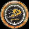 "Anaheim Ducks 14"" – Guaranteed bright and brilliant neon color! Quality neon clocks and neon wall clocks for less. Full 1-5 year no hassle warranty."