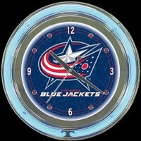 Columbus Blue Jackets 14 Neon Clock – Guaranteed bright and brilliant neon color! Quality neon clocks and neon wall clocks for less. Full 1-5 year no hassle warranty.