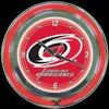"Carolina Hurricanes 14"" – Guaranteed bright and brilliant neon color! Quality neon clocks and neon wall clocks for less. Full 1-5 year no hassle warranty."