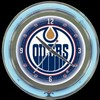 "Edmonton Oilers 14"" – Guaranteed bright and brilliant neon color! Quality neon clocks and neon wall clocks for less. Full 1-5 year no hassle warranty."