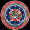 "Florida Panthers 14"" – Guaranteed bright and brilliant neon color! Quality neon clocks and neon wall clocks for less. Full 1-5 year no hassle warranty."