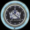 "Los Angeles Kings 14"" – Guaranteed bright and brilliant neon color! Quality neon clocks and neon wall clocks for less. Full 1-5 year no hassle warranty."