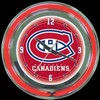 "Montreal Canadiens 14"" – Guaranteed bright and brilliant neon color! Quality neon clocks and neon wall clocks for less. Full 1-5 year no hassle warranty."