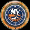 "New York Islanders 14"" – Guaranteed bright and brilliant neon color! Quality neon clocks and neon wall clocks for less. Full 1-5 year no hassle warranty."