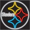 Pittsburgh Steelers – Guaranteed bright and brilliant NFL neon signs! Our NFL neon signs feature quality ½ diameter neon glass tubing and whisper quiet UL listed neon sign transformer. Full 1-5 year no hassle warranty.