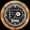 "Philadelphia Flyers 14"" – Guaranteed bright and brilliant neon color! Quality neon clocks and neon wall clocks for less. Full 1-5 year no hassle warranty."