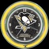 "Pittsburgh Penguins 14"" – Guaranteed bright and brilliant neon color! Quality neon clocks and neon wall clocks for less. Full 1-5 year no hassle warranty."
