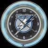 "Tampa Bay Lightning 14"" – Guaranteed bright and brilliant neon color! Quality neon clocks and neon wall clocks for less. Full 1-5 year no hassle warranty."