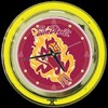 "Arizona State 14"" – Guaranteed bright and brilliant neon color! Quality neon clocks and neon wall clocks for less. Full 1-5 year no hassle warranty."