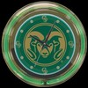 "Colorado State 14"" – Guaranteed bright and brilliant neon color! Quality neon clocks and neon wall clocks for less. Full 1-5 year no hassle warranty."