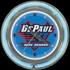 "DePaul 14"" – Guaranteed bright and brilliant neon color! Quality neon clocks and neon wall clocks for less. Full 1-5 year no hassle warranty."