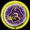 "East Carolina 14"" – Guaranteed bright and brilliant neon color! Quality neon clocks and neon wall clocks for less. Full 1-5 year no hassle warranty."
