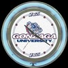 "Gonzaga 14"" – Guaranteed bright and brilliant neon color! Quality neon clocks and neon wall clocks for less. Full 1-5 year no hassle warranty."
