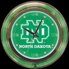 "North Dakota 14"" – Guaranteed bright and brilliant neon color! Quality neon clocks and neon wall clocks for less. Full 1-5 year no hassle warranty."
