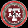 "Texas A&M 14"" – Guaranteed bright and brilliant neon color! Quality neon clocks and neon wall clocks for less. Full 1-5 year no hassle warranty."