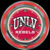 "UNLV 14"" – Guaranteed bright and brilliant neon color! Quality neon clocks and neon wall clocks for less. Full 1-5 year no hassle warranty."
