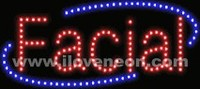 LED MOTION Animated Facial Sign - Best prices and lighted open sign selection from iLoveNeon.com