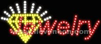 LED MOTION Animated Jewelry Sign - Best prices and lighted open sign selection from iLoveNeon.com