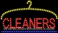 LED MOTION Animated Cleaners Sign - Best prices and lighted open sign selection from iLoveNeon.com