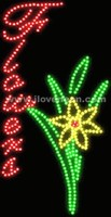 LED MOTION Animated Flowers Sign - Best prices and lighted open sign selection from iLoveNeon.com
