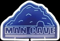 Man Cave Neon Sculpture – Guaranteed bright and brilliant neon color! Quality ½ diameter neon light sculpture at a wholesale price. Full 1-year no hassle warranty.