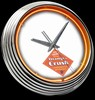 "Orange Crush 15"" – Guaranteed bright and brilliant neon color! Quality neon clocks and neon wall clocks for less. Full 1-5 year no hassle warranty."