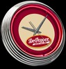 "Dr. Pepper 15"" – Guaranteed bright and brilliant neon color! Quality neon clocks and neon wall clocks for less. Full 1-5 year no hassle warranty."