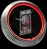 "Portland 15"" – Guaranteed bright and brilliant neon color! Quality neon clocks and neon wall clocks for less. Full 1-5 year no hassle warranty."