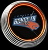 "Charlotte Bobcats 15"" – Guaranteed bright and brilliant neon color! Quality neon clocks and neon wall clocks for less. Full 1-5 year no hassle warranty."