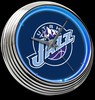 "Utah Jazz 15"" – Guaranteed bright and brilliant neon color! Quality neon clocks and neon wall clocks for less. Full 1-5 year no hassle warranty."